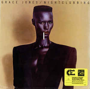 Grace Jones ‎– Nightclubbing
