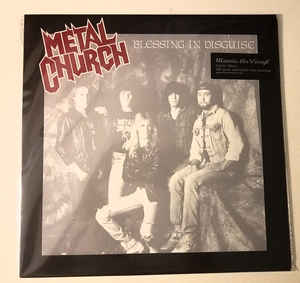 Metal Church ‎– Blessing In Disguise