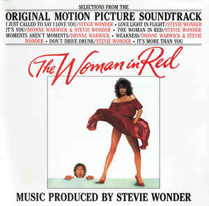 Stevie Wonder ‎– The Woman In Red (Selections From The Original Motion Picture Soundtrack)