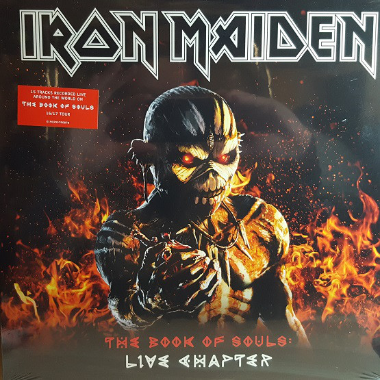 Iron Maiden ‎– The Book Of Souls: Live Chapter