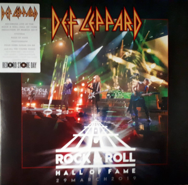 Def Leppard – Rock & Roll Hall Of Fame 29 March 2019